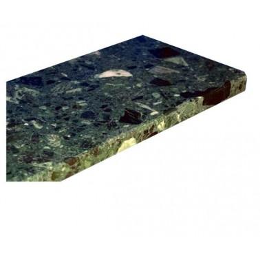 Parapet z konglomeratu marmurowego - Verde Tirreno