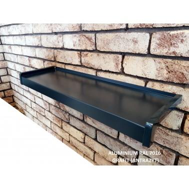 Parapet zewnętrzny Aluminiowy Ral 7016