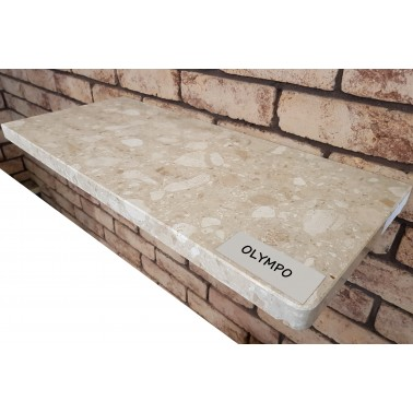 Parapet z konglomeratu marmurowego - Olympo